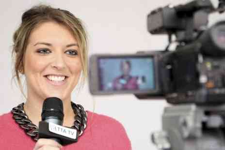 The TV Training Academy - Full Day TV Presenting Taster Course  - Save 90%