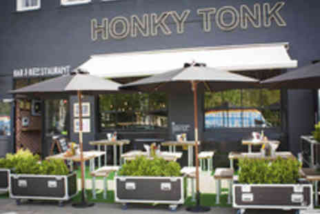 Honky Tonk - All American Three Course Meal with Cocktails for One - Save 51%