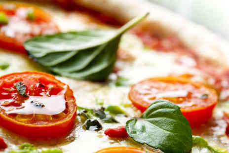Nicolas Ristorante - Starter, Pizza or Pasta Meal, and Glass of Wine Each for Two - Save 54%
