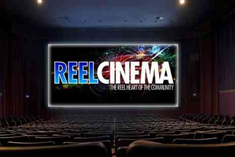 Reel Cinema - Two Tickets to  Reel Cinema at Choice of 14 Locations - Save 50%