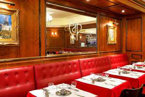 Chez Boubier - Sirloin Steak Dinner & Champagne - Save 40%