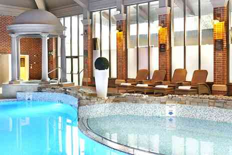 Mottram Hall - Spa Day including Treatments & Afternoon Tea  - Save 47%