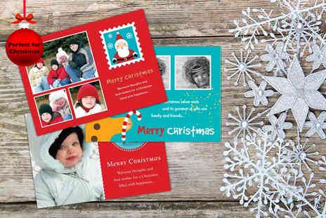 Frame My Name - 20 personalised Christmas cards - Save 59%