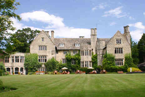 Stonehouse Court Hotel - One Night Cotswolds Break for Two with Breakfast and a Cream Tea on Arrival - Save 51%