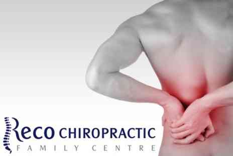Reco Family Chiropractic Centre - Chiropractic Consultation With Three Follow Up Treatments - Save 70%