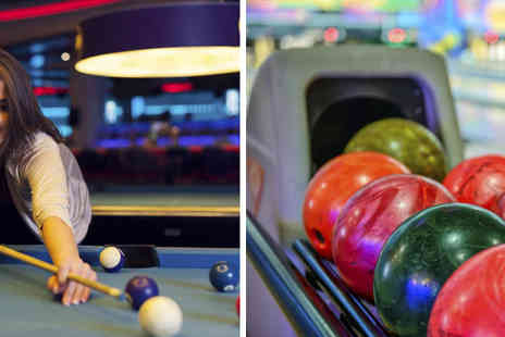 MFA Bowl Blackpool - Snooker, bowling and a hot dog or burger each - Save 52%