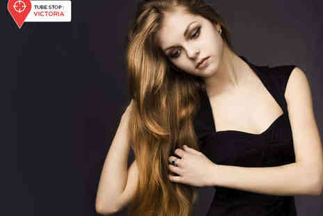 Figaros Unisex Hair Salon - Haircut with Joico Conditioning Treatment and Finish - Save 58%
