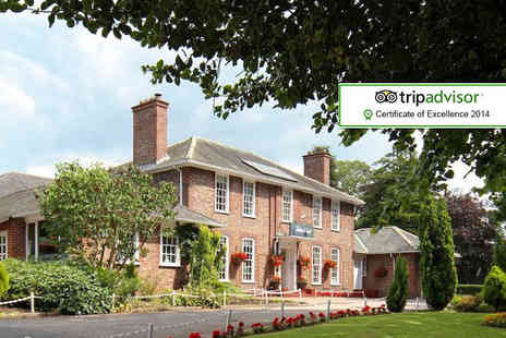 The Gables Hotel - One night stay for Two including two course dinner, breakfast & late check out - Save 62%