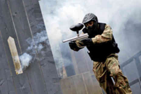 Allied Paintball - Paintballing for Five or More Players with 50 Paintballs Each - Save 87%