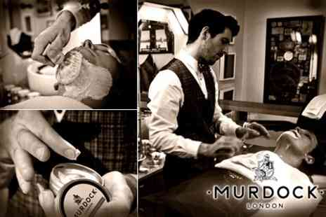 Murdock London - Ideal Father's Day Gift: Wet Shave With Haircut, Shampoo and Condition - Save 60%