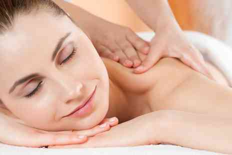 The Manor Salon - Spa day with a back, neck and shoulder massage - Save 40%
