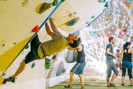 White Spider Climbing - Bouldering Induction Session With Day Pass - Save 53%
