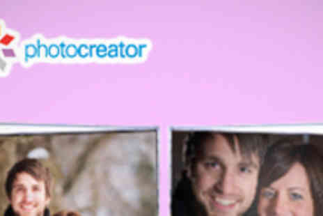 Photocreator - Personalised Valentines Photo Book - Save 62%
