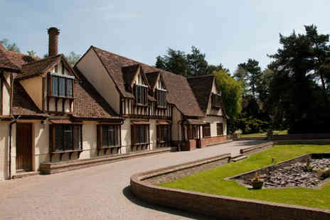 The Great Hallingbury Manor - One night stay for 2 including dinner, breakfast - Save 42%