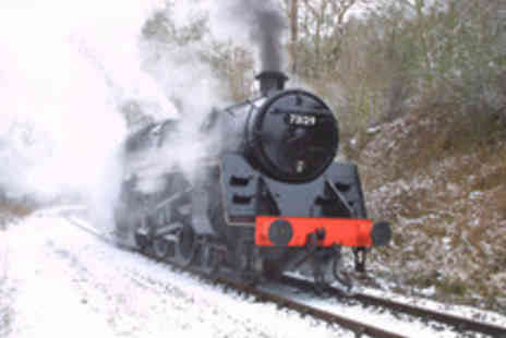 Midland Railway Butterley - Festive Family Train Ride with Gifts and Treats - Save 46%