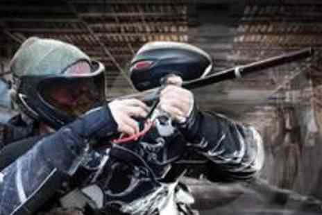 Project Paintball - Full days paintballing including 100 paintballs and lunch - Save 82%
