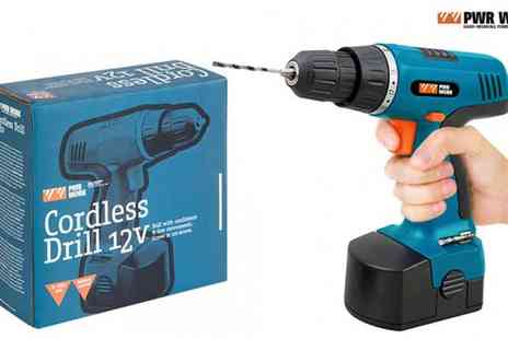 Delizius Deluxe - PWR WORK Cordless Drill - Save 79%