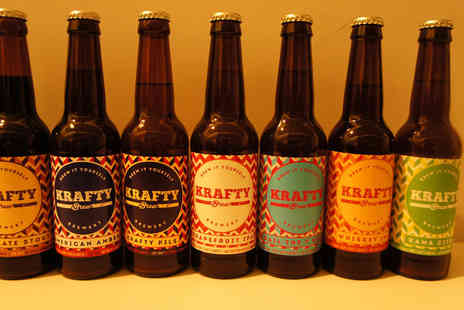 Krafty Brew - Brew it yourself  workshop and get 150 bottles of your own brewed beer  - Save 0%