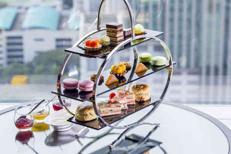 Thistle Euston Hotel - Afternoon tea for Two including sandwiches, scones and more  - Save 58%
