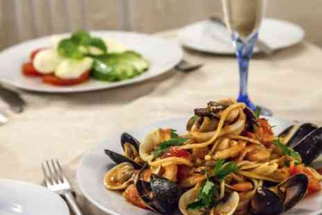 Romanos Kensington - Three Course Italian Meal With Prosecco and Coffee For Two - Save 0%
