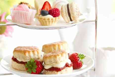 The Wild Boar Hotel - Luxury afternoon tea for two - Save 50%