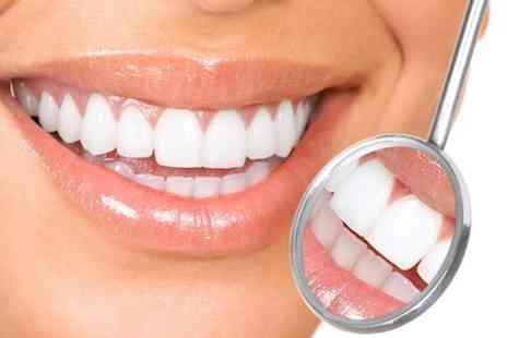 Dental Care - One Hour Teeth Whitening Treatment With Airflow Polish - Save 76%