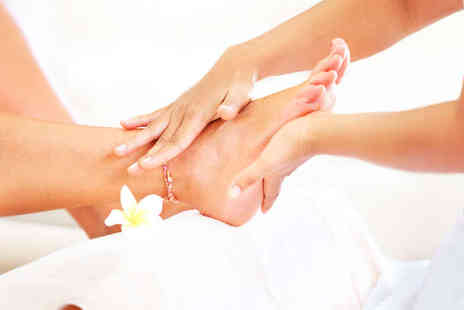 Hibiscus Therapy - 30 Minute Thai Foot Massage or Indian Head Massage - Save 52%