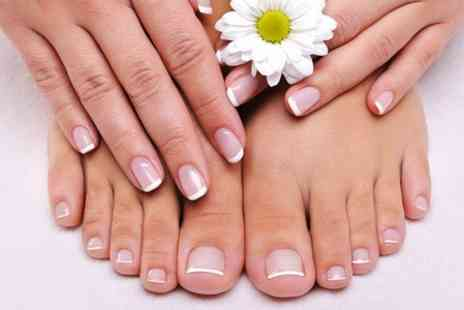 Beyond Beauty - Gel Manciure or Pedicure - Save 0%