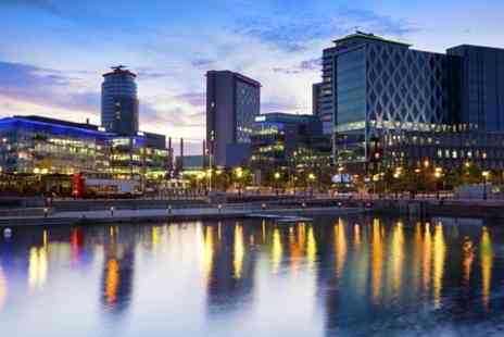 Britannia Hotel Manchester - One Night stay For Two With Breakfast, 1 Pizza and 1 Drink  - Save 0%