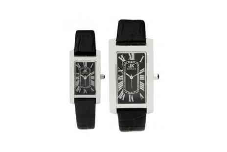 CSK London - Jan Kauf His & Hers Watch Set - Save 72%