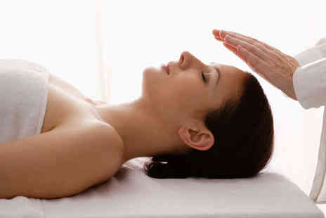Hands on Healing - Full Body Massage and Reiki Treatment or Two Hour Couples Massage Class - Save 62%