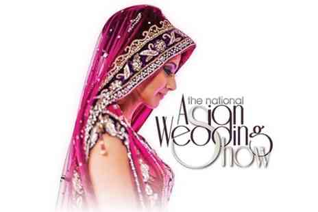 The National Asian Wedding Show - Entry For One at The National Asian Wedding Show  - Save 40%