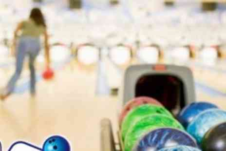 Lakeside Superbowl - £13 for One Hour of Tenpin Bowling For Six With Food - Save 74%
