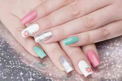 skin and tonic - Full Set of Acrylic Nails  - Save 52%