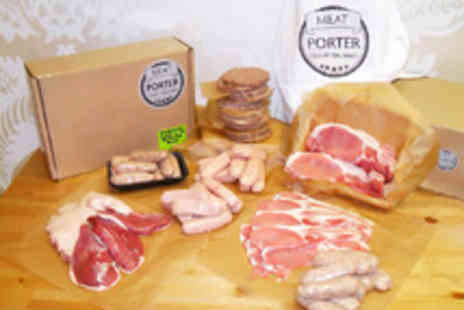 Meat Porter - A Selection of Fine Meats Including Burgers, Sausages, Bacon and Duck - Save 40%