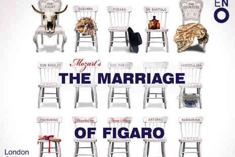 London Coliseum - Ticket to The English National Operas The Marriage of Figaro - Save 40%
