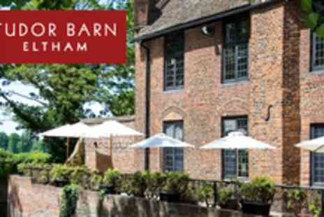 Tudor Barn Eltham - Tudor Platter for two with 2 large glasses of wine eat like a king - Save 50%