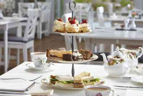 Broadoaks Country House - Afternoon Tea With Pink Sparkling Wine For Two  - Save 58%