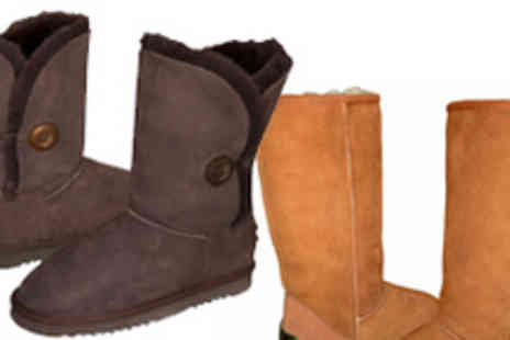 Shepherds Life - £55 Voucher to Spend on Sheepskin Boots or Slippers - Save 55%