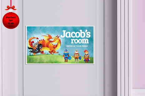 Frame My Name - Personalised childrens door or wall sign - Save 75%