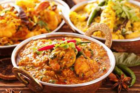 Cardamom - Indian meal for Two with a starter, main course & glass of wine - Save 55%