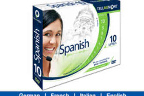 Rosetta Stone - Learn to Speak a New European Language with Tell Me More - Save 75%