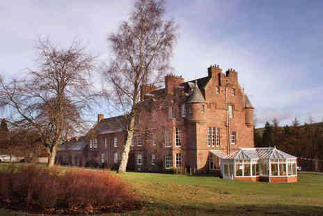 Cringletie House Hotel - One Night Luxury Scottish Castle Stay for Two with Breakfast Daily and a Three Course Dinner  - Save 40%