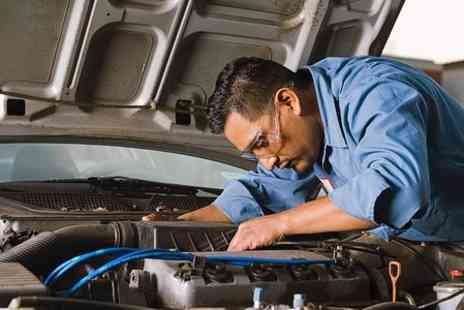 Complete Motor Care - 54P oint Car Service Including Oil Change - Save 60%