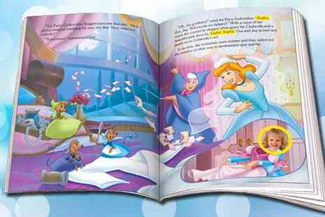 Identity Direct - Choice of Six Personalised Story Books including P&P - Save 48%