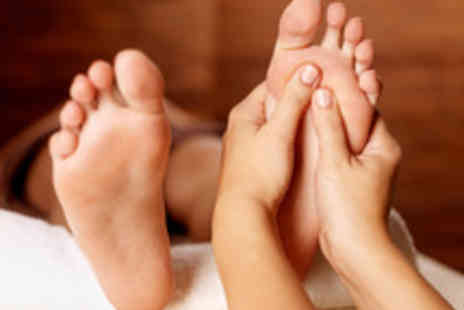 The Reflexology Space - Relaxing 75 Minute Reflexology Session for One - Save 68%