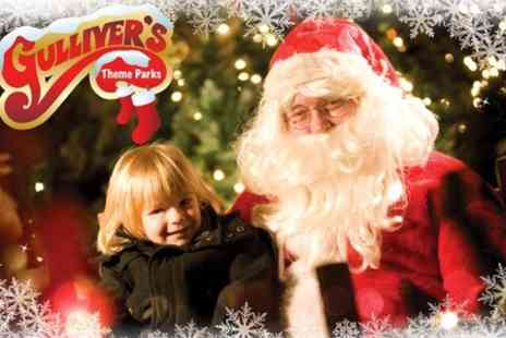Gullivers Land -  Entry to Christmas festivities include access to Santas grotto and elf workshop  - Save 0%