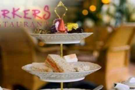 Parkers Restaurant - Champagne Afternoon Tea For Two - Save 54%
