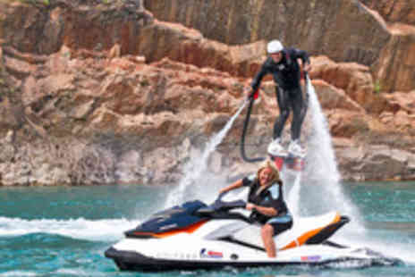 Big Crazy - Thrilling Jetski and Flyboarding Experience in London or Chepstow - Save 50%