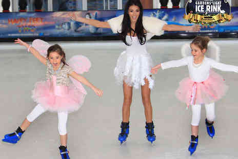 Gardens Ice Rink - Ice Skating Session Including Skate Hire - Save 50%